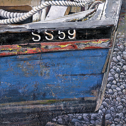 SS59 - Detail of a boat by Nicholas Smith