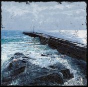 Print High Tide, Porthleven