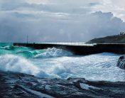 Print Storm Tide, Porthleven