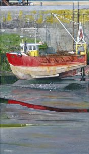 Print Red Boat