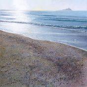 Print Pebbles on the Beach