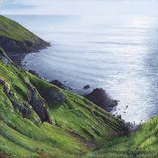 Cornish Landscape and Seascape Print: Wheal Edward Zawn