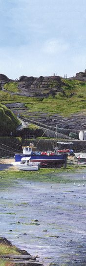 LE756 Boscastle Harbour I