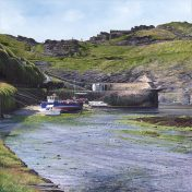 LE760 Boscastle Harbour