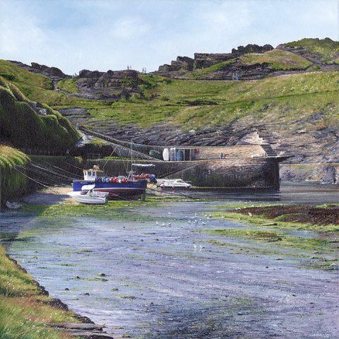 LE760 Boscastle Harbour