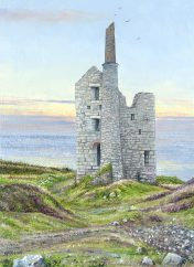 Print of Wheal Owles by Nicholas Smith
