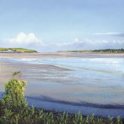 Print of the painting Padstow from the Camel Trail by Nicholas Smith