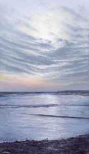Mackerel Sky - a stunning sea & skyscape by artist Nicholas Smith