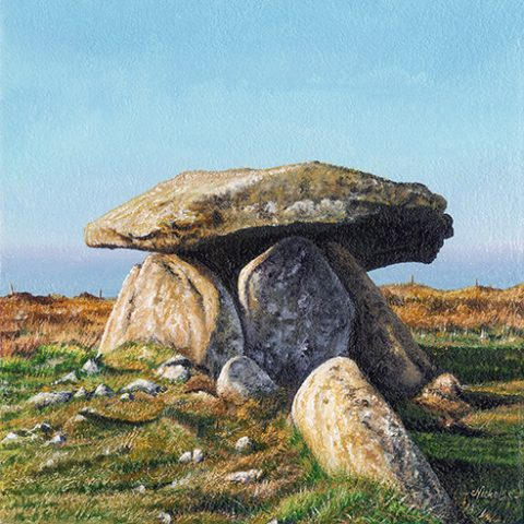 OE25 Chun Quoit - a detailed print by artist Nicholas Smith